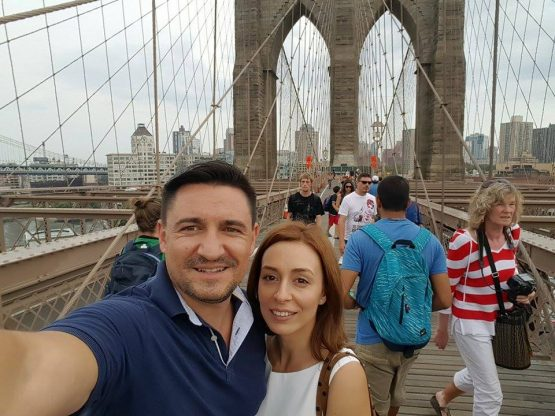 Am traversat Brooklyn Bridge