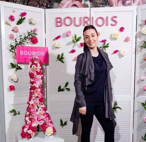 Tania Cozma este makeup artist oficial Bourjois România