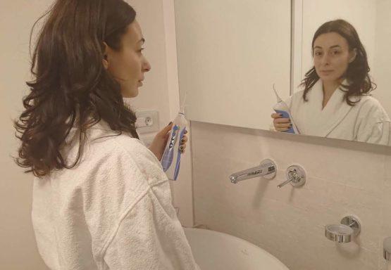 De ce să folosești un duș bucal